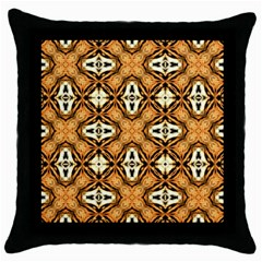 Faux Animal Print Pattern Throw Pillow Cases (black)