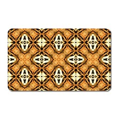 Faux Animal Print Pattern Magnet (rectangular)