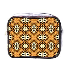 Faux Animal Print Pattern Mini Toiletries Bags