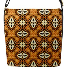 Faux Animal Print Pattern Flap Messenger Bag (s)
