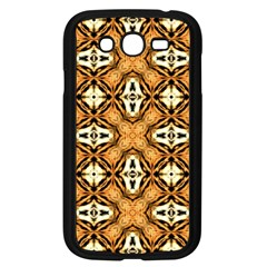 Faux Animal Print Pattern Samsung Galaxy Grand Duos I9082 Case (black)
