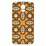 Faux Animal Print Pattern Samsung Galaxy S5 Back Case (White) Front