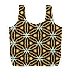 Faux Animal Print Pattern Full Print Recycle Bags (l)  by creativemom