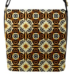 Faux Animal Print Pattern Flap Messenger Bag (s) by creativemom