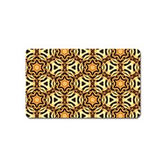 Faux Animal Print Pattern Magnet (name Card)