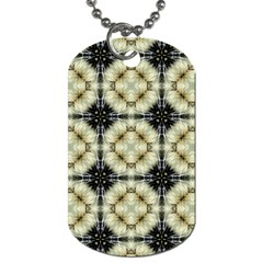 Faux Animal Print Pattern Dog Tag (two Sides) by creativemom
