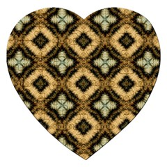 Faux Animal Print Pattern Jigsaw Puzzle (heart)