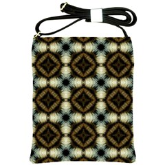 Faux Animal Print Pattern Shoulder Sling Bags by creativemom
