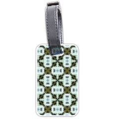 Faux Animal Print Pattern Luggage Tags (one Side)  by creativemom