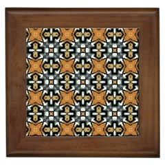 Faux Animal Print Pattern Framed Tiles by creativemom