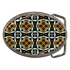 Faux Animal Print Pattern Belt Buckles
