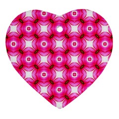 Cute Pretty Elegant Pattern Ornament (heart)