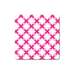 Cute Pretty Elegant Pattern Square Magnet by creativemom