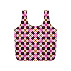Cute Pretty Elegant Pattern Full Print Recycle Bags (s)  by creativemom