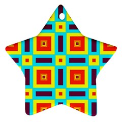 Cute Pretty Elegant Pattern Ornament (star)
