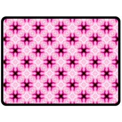 Cute Pretty Elegant Pattern Double Sided Fleece Blanket (large)  by creativemom
