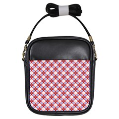 Cute Pretty Elegant Pattern Girls Sling Bags by creativemom