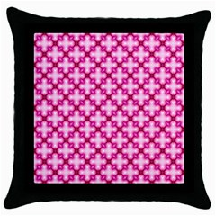Cute Pretty Elegant Pattern Throw Pillow Cases (black)
