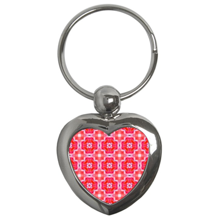 Cute Pretty Elegant Pattern Key Chains (Heart)