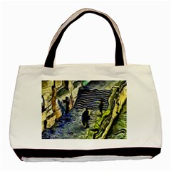 Banks Of The Seine Kpa Basic Tote Bag (two Sides)