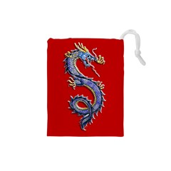 Dragonbag Small Drawstring Pouch (small) by TheDean