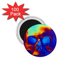 Skull 1 75  Magnets (100 Pack)  by icarusismartdesigns