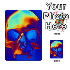 Skull Multi Purpose Cards (rectangle)  by icarusismartdesigns