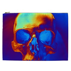 Skull Cosmetic Bag (xxl)  by icarusismartdesigns