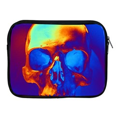 Skull Apple Ipad 2/3/4 Zipper Cases by icarusismartdesigns