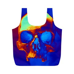 Skull Full Print Recycle Bags (m)
