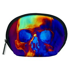 Skull Accessory Pouches (medium)  by icarusismartdesigns