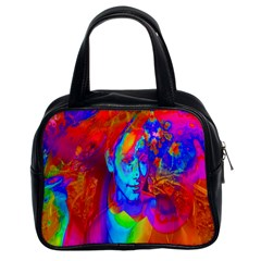 Brainstorm Classic Handbags (2 Sides) by icarusismartdesigns