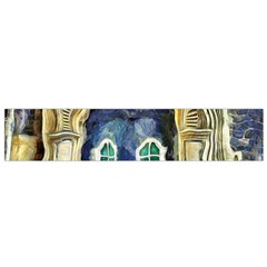 Luebeck Germany Arched Church Doorway Flano Scarf (small)