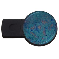 Urban Background Usb Flash Drive Round (4 Gb)  by LokisStuffnMore