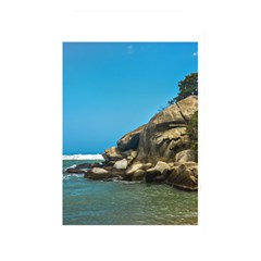Tropical Beach Of Tayrona National Park Memory Card Reader by dflcprints