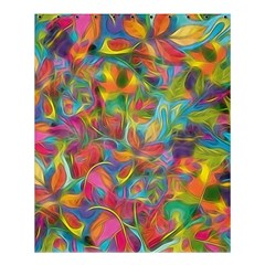 Colorful Autumn Shower Curtain 60  X 72  (medium)  by KirstenStar
