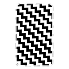 Black And White Zigzag Memory Card Reader