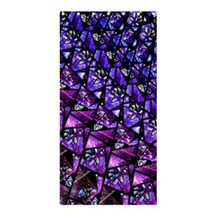 Blue Purple Shattered Glass Shower Curtain 36  X 72  (stall)
