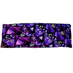 Blue Purple Shattered Glass Body Pillow Cases Dakimakura (two Sides)