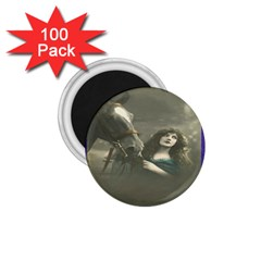 Vintage Woman With Horse 1 75  Magnets (100 Pack)  by LokisStuffnMore