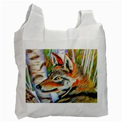 Wolfpastel Recycle Bag (two Side)  by LokisStuffnMore
