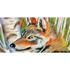Wolfpastel You Are Invited 3d Greeting Card (8x4)  by LokisStuffnMore