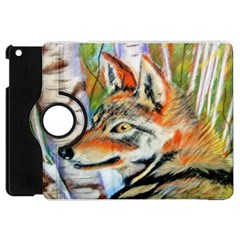 Wolfpastel Apple Ipad Mini Flip 360 Case by LokisStuffnMore