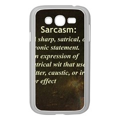 Sarcasm  Samsung Galaxy Grand Duos I9082 Case (white)