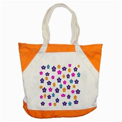 Candy Flowers Accent Tote Bag