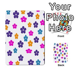 Candy Flowers Multi Purpose Cards (rectangle)  by designmenowwstyle