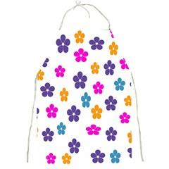 Candy Flowers Full Print Aprons