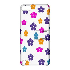 Candy Flowers Apple Ipod Touch 5 Hardshell Case With Stand by designmenowwstyle