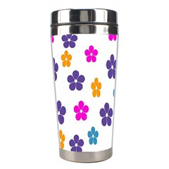 Candy Flowers Stainless Steel Travel Tumblers