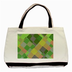 Squares And Other Shapes Basic Tote Bag (two Sides) by LalyLauraFLM